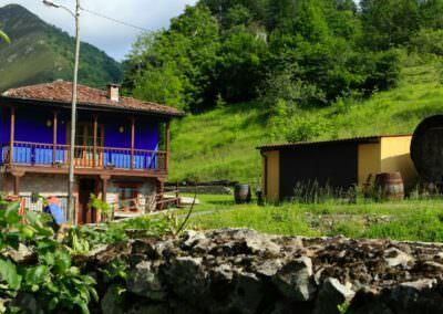 Casa Rural Aguas del Sella Jacuzzi