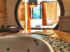 Casa rural con Jacuzzi Aguas del Beyo. Casa rural en Asturias