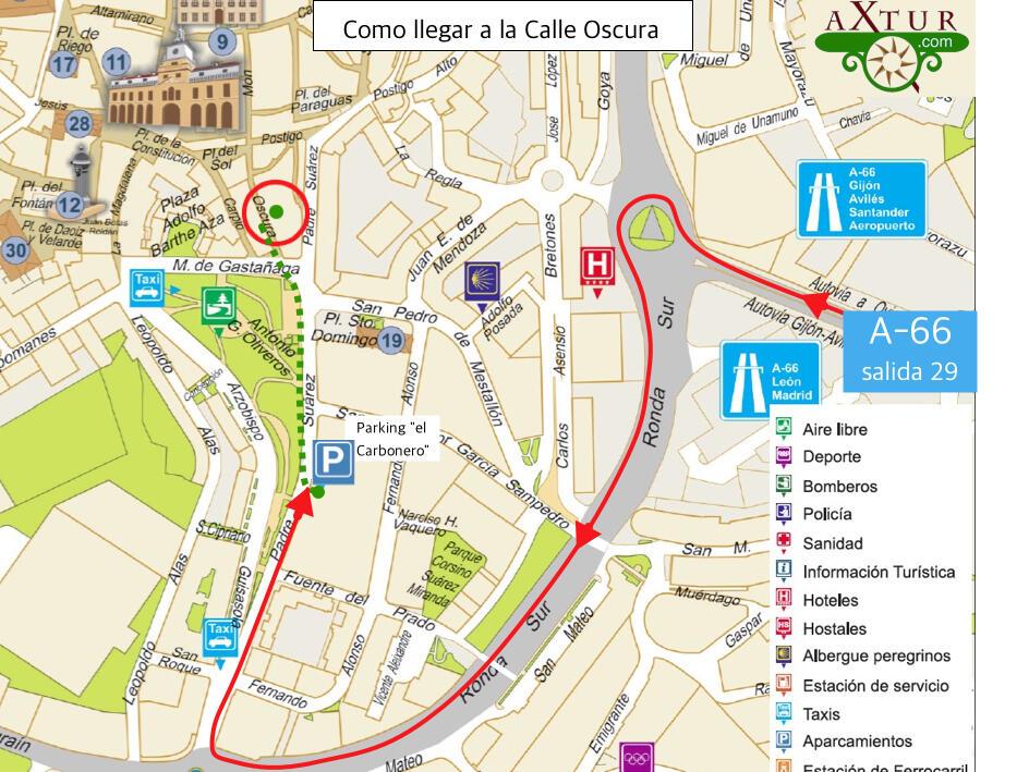 Como llegar a Joyas de Asturias. Apartamento en Oviedo