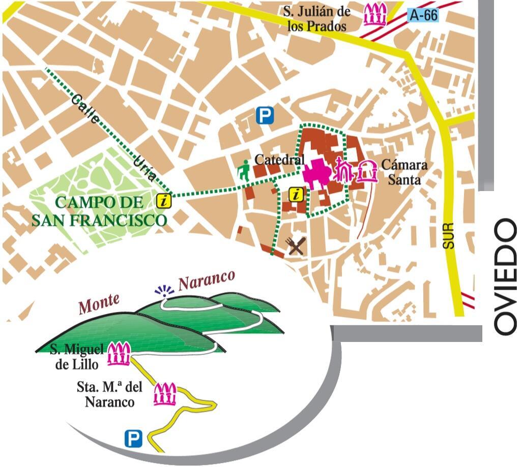 Que ver desde el Apartamento en Oviedo Joyas de Asturias