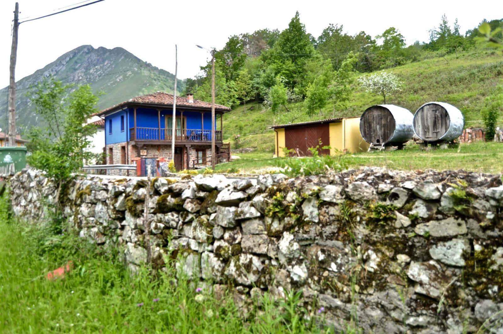 Casa rural con jacuzzi Aguas del Sella en Asturias.