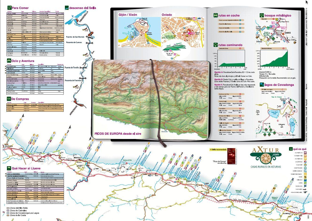 Axtur:Guia visual de los Picos de Europa Axtur